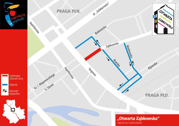 Ząbkowska zostanie zamknięta dla aut Urząd Miasta