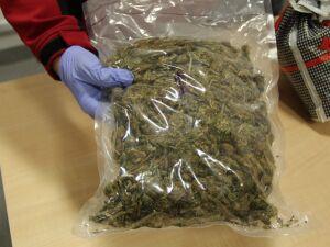 Zasadzka na Mokotowie. Narkotyki  i 11 dowodów na różne nazwiska