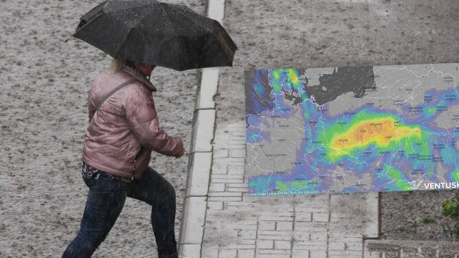 """Pogoda na 5 dni: """"deszczonośny Daniel"""" zawładnie pogodą. """"Opady będą ulewne"""", uwaga na burze"""