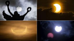 Niesamowite zdjęcia zaćmienia Słońca z różnych stron świata