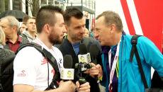 """""""Bez aktywności fizycznej nie ma zdrowego życia"""". Guru biegaczy podczas Orlen Warsaw Marathon"""
