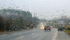Na drogi spadnie do 20 litrów deszczu. Powieje z prędkością 80 km/h