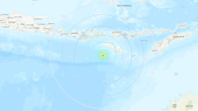 Dwa trzęsienia w ciągu pięciu godzin