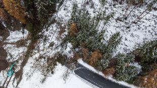 Lawiny błotne po obfitych opadach w Austrii. Ofiara śmiertelna i ranni