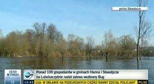Na Lubelszczyźnie woda powoli opada (TVN24)